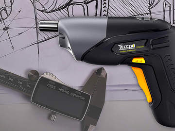 Visseuse sans fil TDSC02P TECCPO